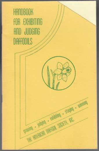 Image for Handbook for Exhibiting and Judging Daffodils