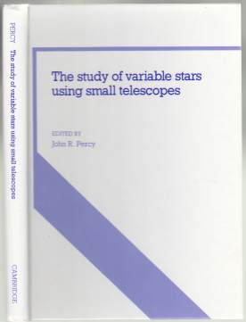 Image for The Study of Variable Stars Using Small Telescopes