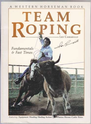 Image for Team Roping  Fundamentals & Fast Times  A Western Horseman Book