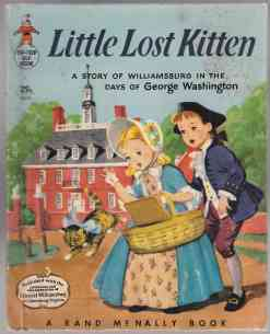 Image for Little Lost Kitten: A Story of Williamsburg in the Days of George Washington