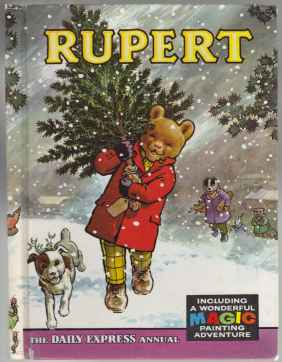 Image for Rupert; Includes Rupert and Gaffer, Rupert and the Winter Woolly, Rupert and the Old Hat, Rupert and Rusty w/8 unused pages of Painting adventure Fun