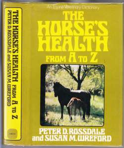 Image for The Horse's Health From A to Z  An Equine Veterinary Dictionary