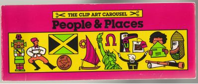 Image for The Clip Art Carousel People & Places