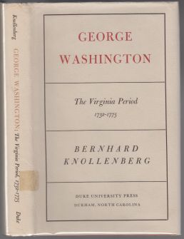 Image for George Washington The Virginia Period 1732-1775