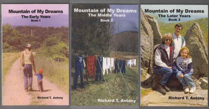 Image for Mountain of My Dreams The Early Years, The Middle Years, The Later Years. Book 1, 2 & 3