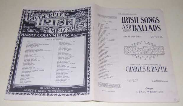 Image for Irish Songs and Ballads. The Concert Edition for Medium Voice. Staff & Solfa