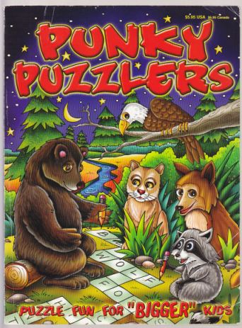 Image for Punky Puzzlers. Puzzle Fun for 'Bigger' Kids Series 2