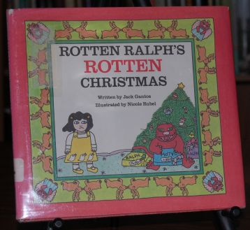 Image for Rotten Ralph's Rotten Christmas  SIGNED w/DRAWING