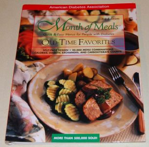 Image for Month of Meals  Quick & Easy Menus for People with Diabetes  Old-Time Favorites