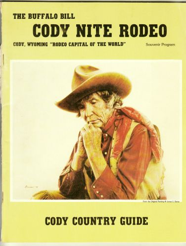Image for The Buffalo Bill Cody Nite Rodeo - Souvenir Program