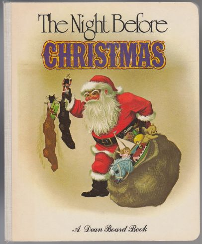 Image for The Night Before Christmas  A Dean Board Book