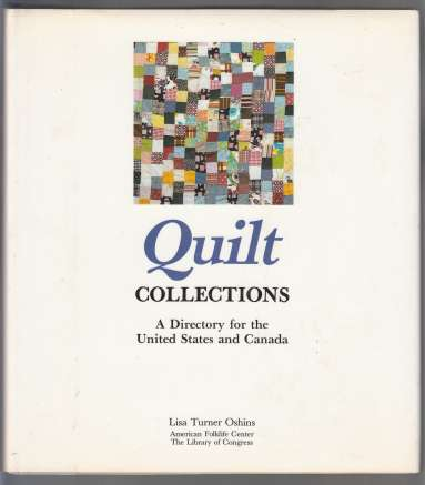 Image for Quilt Collections  A Directory for the United States and Canada