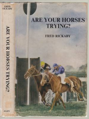 Image for Are Your Horses Trying?