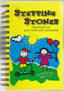 Image for Stepping Stones Inspiration for Quiet Times and Journaling for Girls & Boys Ages 7-10