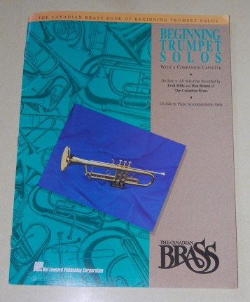 Image for The Canadian Brass Book Of Beginning Trumpet Solos