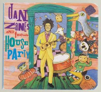 Image for Dan Zanes and Friends House Party Book with CD