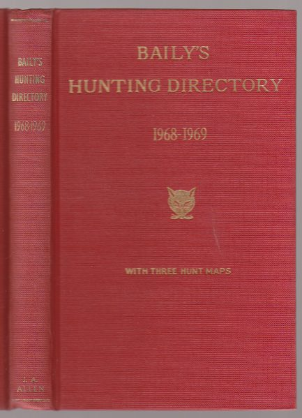 Image for Baily's Hunting Directory 1968-69 Vol. 62