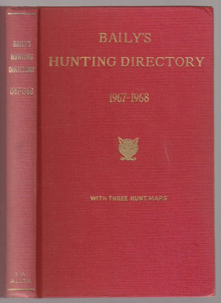 Image for Baily's Hunting Directory 1967-68 Number 61