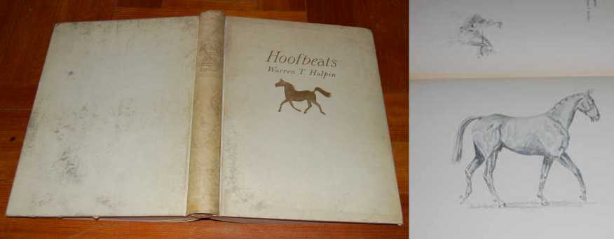 Image for Hoofbeats  Drawings and Comments.  Signed Limited Numbered  #117/150 in Full Vellum