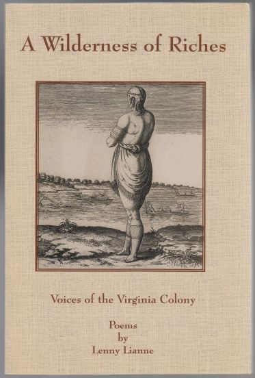 Image for A Wilderness Of Riches  Voices of The Virginia Colony  Poems