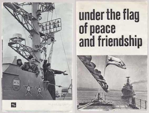Image for Under The Flag of Peace and Friendship   Soviet Navy Leaflet