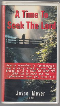 Image for A Time To Seek The Lord  2 Cassette Tapes in Original Snap Lock Case