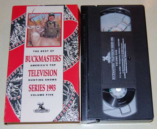 Image for The Best of Buckmasters Vol 5 Series 1993 VHS Tape in Orig Box Deer Hunting