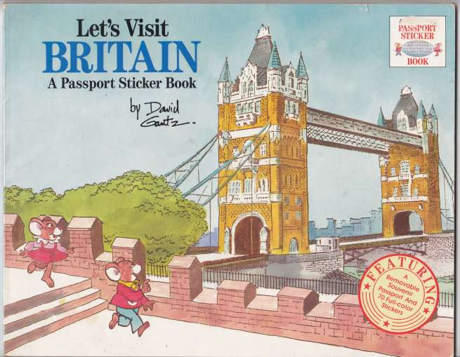 Image for Let's Visit Britain  A Passport Sticker Book