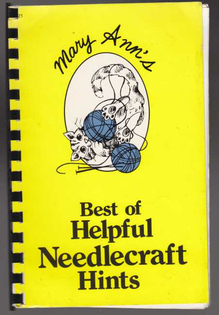 Image for Mary Ann's Book of Helpful Needlecraft Hints