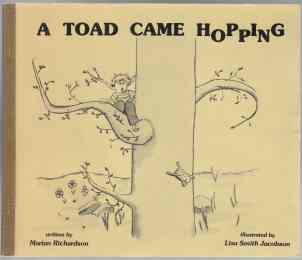 Image for A Toad Came Hopping  SIGNED