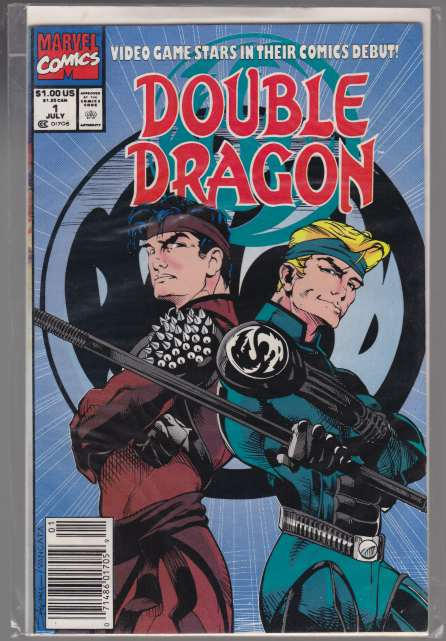 Image for Double Dragon  Video Game Stars in Their Comics Debut!