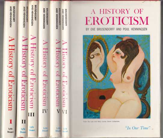 Image for A History of Eroticism  6 Volume Set