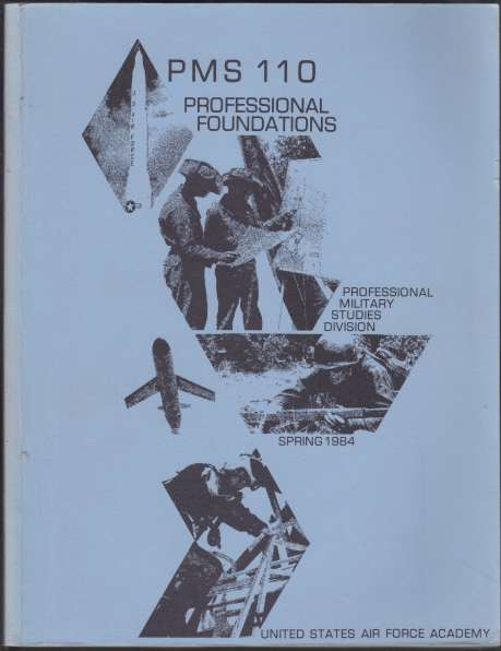 Image for PMS - 110 Professional Foundations Spring 1984 United States Air Force Academy