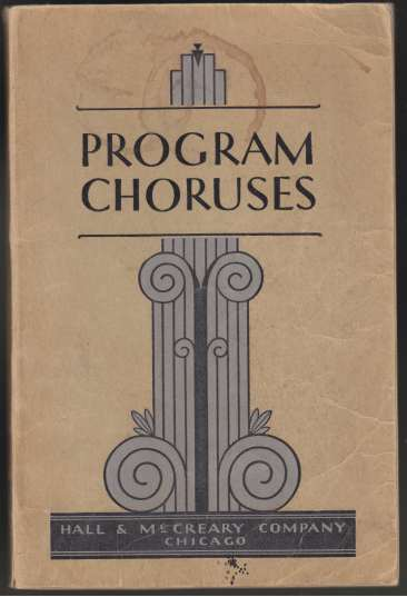 Image for Program Courses  Complete Choral Program Material For Every Occasion