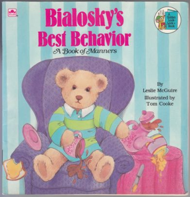 Image for Bialosky's Best Behavior  A Book of Manners