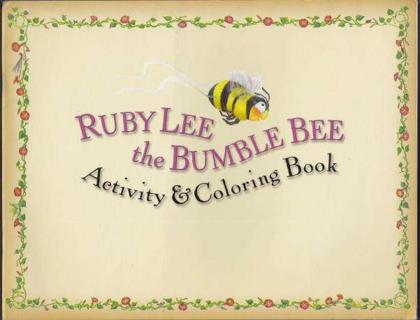 Image for Ruby Lee the Bumble Bee Activity & Coloring Book