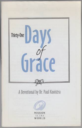 Image for Thirty-One Days of Grace