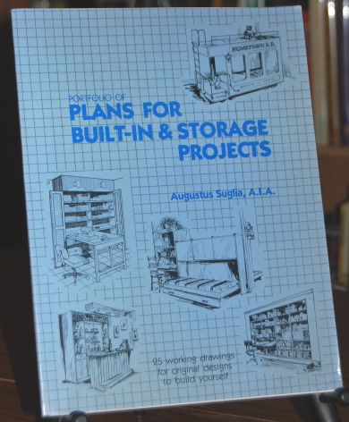 Image for Porfolio of Plans for Built-In & Storage Projects 25 Working Drawings for Original Designs to Build Yourself