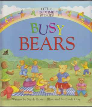 Image for Busy Bears Little Bedtime Stories