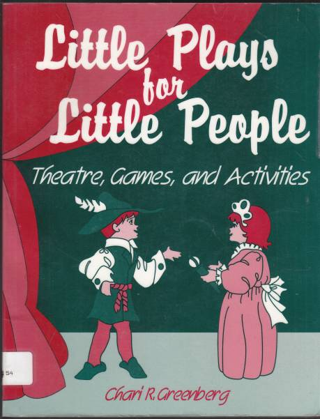 Image for Little Plays for Little People Theatre, Games and Activities