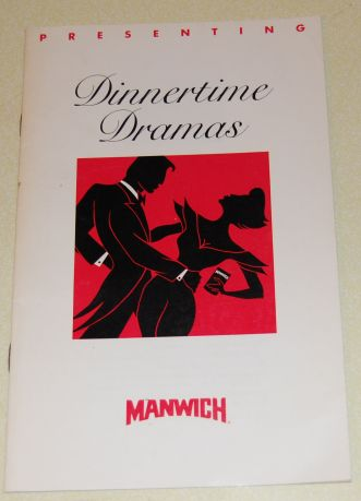 Image for Presenting Dinnertime Dramas Manwich  Recipe Book
