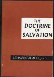 Image for The Doctrine Of Salvation