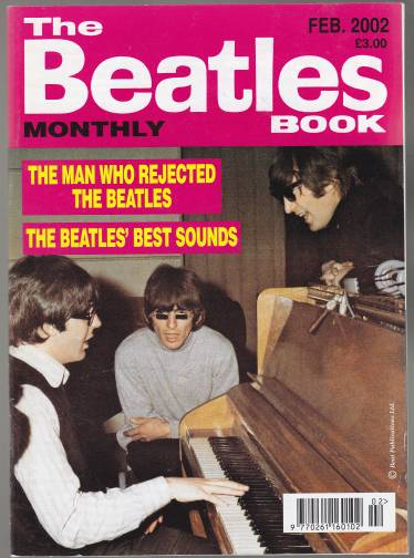Image for The Beatles Book Montly Feb 2002 No.310 The Man Who Rejected the Beatles/ The Beatles' Best Sounds