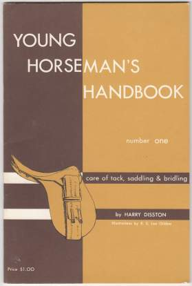 Image for Young Horseman's Handbook Number One (1) Care of Tack, Saddling & Bridling
