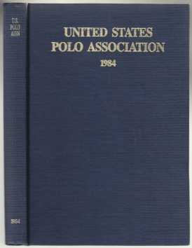 Image for Yearbook of the United States Polo Association 1984