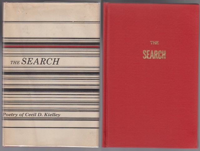 Image for The Search  Poetry of Cecil D. Kielley  SIGNED