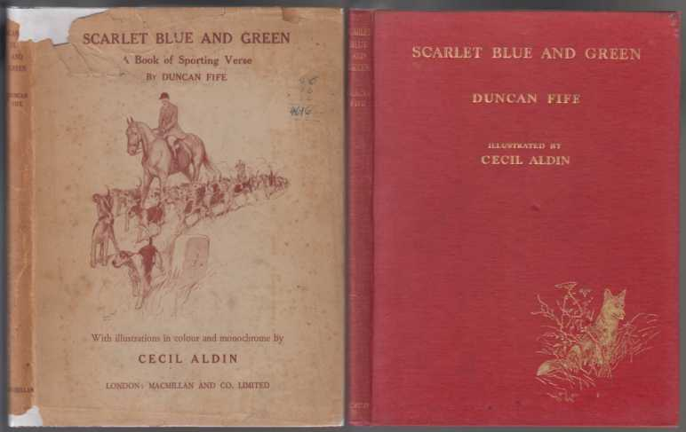 Image for Scarlet Blue and Green