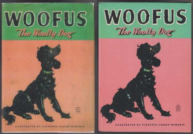 Image for Woofus The Woolly Dog  A Fuzzy Wuzzy Book