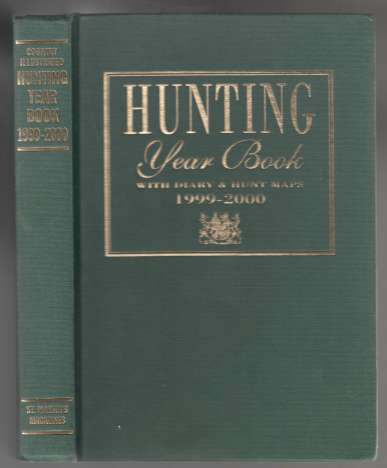 Image for Country Illustrated Hunting Year Book 1999-2000 With Diary and Hunting Maps and Point-to-Point Meetings 2000