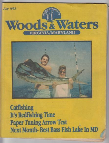 Image for Outdoor World of Woods & Waters Virginia/Maryland. Vol 4 Issue 11 July 1992